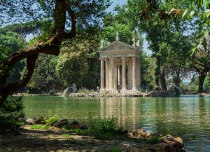 Redevelopment of parks, gardens and historic villas in Rome