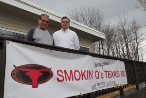 Smokin' Q's and their Texas-Style Ribs!