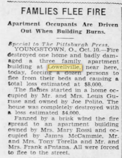 In this 1929 Pittsburgh Press Article, Roslyn Torella was able to verify the date of a house fire that endangered the lives of her grandparents and their children, including her father who was  only three weeks old.