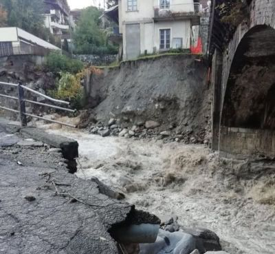 The Storm Alex hit South-eastern France and North-western Italy