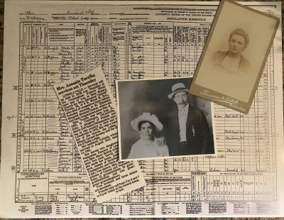 """The first step to starting your family history journey is to gather up all of your old family photos, documents and records. These items will help you establish the facts you can easily record and provide clues to other more elusive facts."""