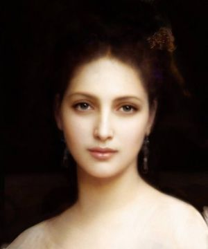 William Bouguereau's Aprodite, a goddess associated with love, beauty and passion, three characteristics also associated with the beautiful music and ballet presented at the concert.