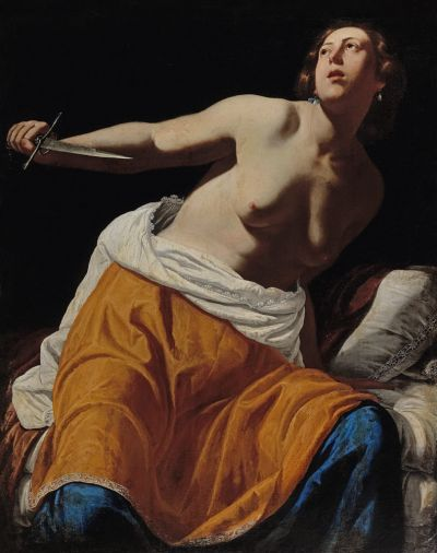 "<div class=""buttonTitle""><div class=""roundedlIcon white mbianco mprest""></div></div>A canvas by Italian painter Artemisia Gentileschi sold for €4.8 million"