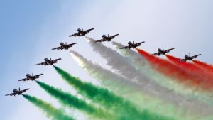 Celebrating Republic Day with Italy's Military Performances