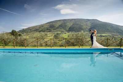 A Wedding in an Assisi Villa: Like a Prize-Winning Film