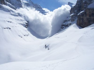 A series of avalanches claimed the lives of nine skiers