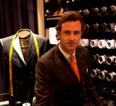 Guglielmo MIani, second generation CEO of Larusmiani