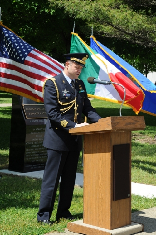 Lt. Giovanni Pirelli is Honored