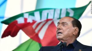 Berlusconi in Hospital for Covid19