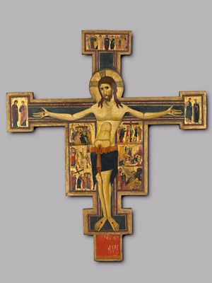 A Painted Crucifix from Pisa