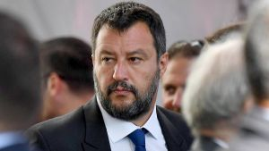 Matteo Salvini is in court over migrant detention claims