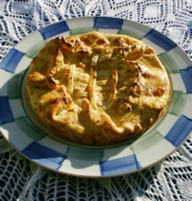 Fiadone Savory Cheese Pie