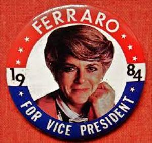 Geraldine Ferraro - Honoree for 2018 Women's History Month