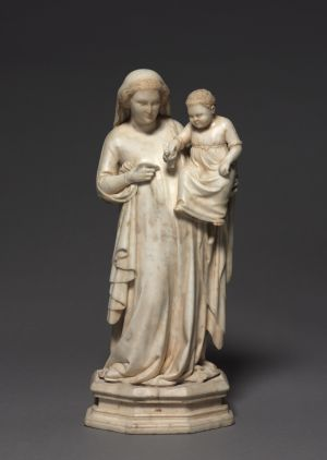Madonna and Child Marble with traces of gilding, H.15 inches Andrea Pisano, Italian (born Pisa, active Florence), 1290-1348 The Cleveland Museum of Art - Leonard C. Hanna, Jr. Fund  1972.51