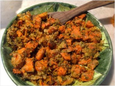An Umbria Winter Recipe: Lemon Zest Winter Squash