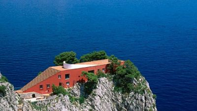 Casa Malaparte on the Coast of Capri