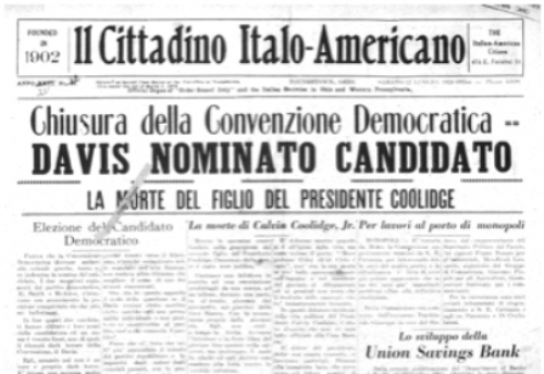 Italian Americans and World War I