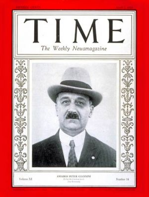 TIME Magazine cover, April 2, 1928