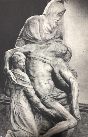 "The ""Florentine Pieta"" or ""The Deposition"""