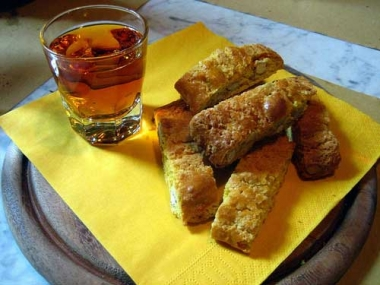Vin Santo and Cantucci
