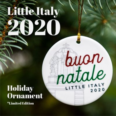Little Italy 2020 Holiday Ornament