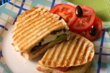 Miceli's Basket Cheese Panini