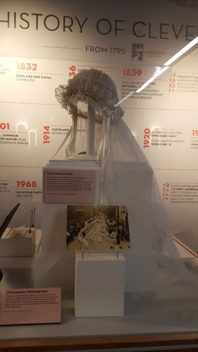 Saving History - Rosemary Rosaria Del Balso Colarochio's First Communion Veil
