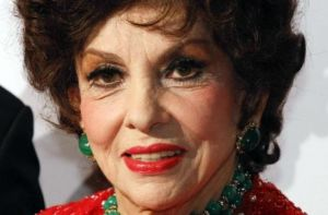 Italian Actress Gina Lollobrigida Receives Star on Walk of Fame